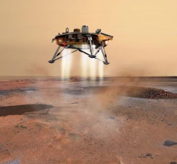 Phoenix Lander Spacecraft in Mars. Photo: NASA.