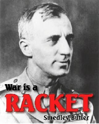 butler--war racket re-enactment major general butlers speech picture real hero