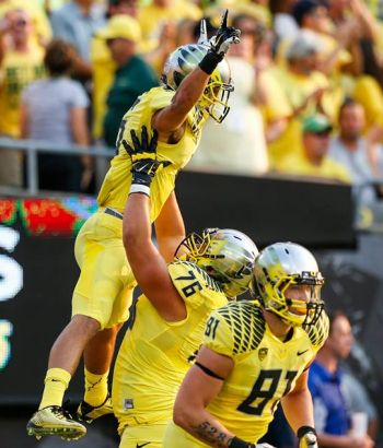 UO Duck Football 2014