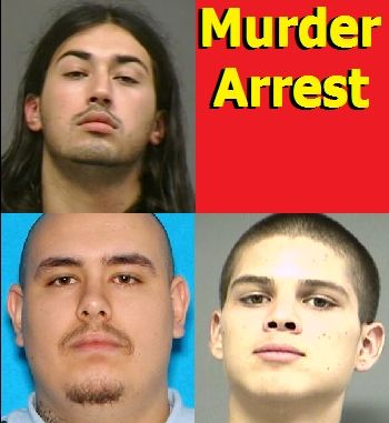 Counterclockwise from top left: 23-year old Nicholas Josue Sias, 22-year old Duane Everett Corbett and 18-year old Maciel Munoz