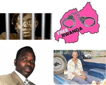 Umuhoza Victoire Ingabire, Bernard Ntaganda and Deogratias Mushyayid have been nominated for the Sakharov Prize of the European Parliament 2012.