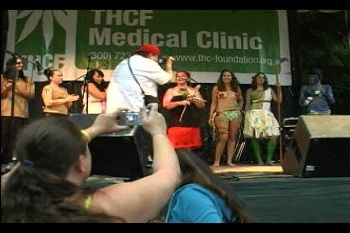 Hemp Fashion Show at 2009 Hempstalk in Portland, Oregon