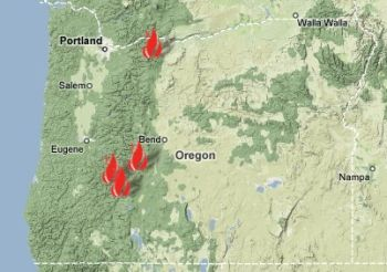 Oregon Governor Declares Royce Butte Fire A Conflagration   Salem
