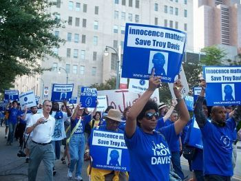 Rally for Troy Davis
