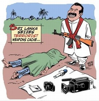 Latuff on Rajapaksa