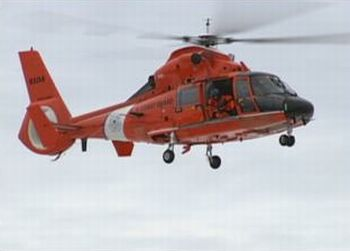 Coast Guard HH-65 helicopter